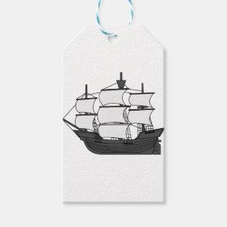 Sail Ship Gift Tags