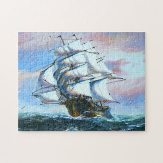 Sail Ship Painting Puzzle