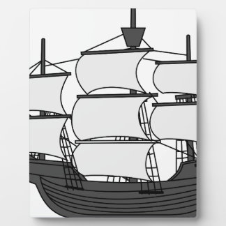 Sail Ship Plaque