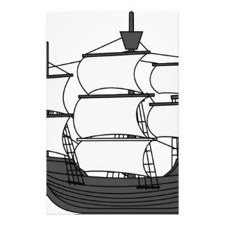 Sail Ship Stationery