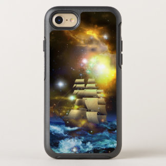 Sail Ship Universe OtterBox Symmetry iPhone 7 Case