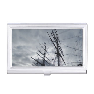 Sail Shrouds Business Card Holder