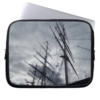 Sail Shrouds Neoprene Laptop Sleeve 10 inch