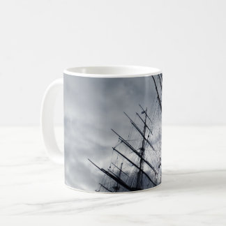 Sail Shrouds White Coffee Mug