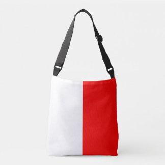 Sail Signal Flag Letter H Hotel Nautical Pattern Crossbody Bag