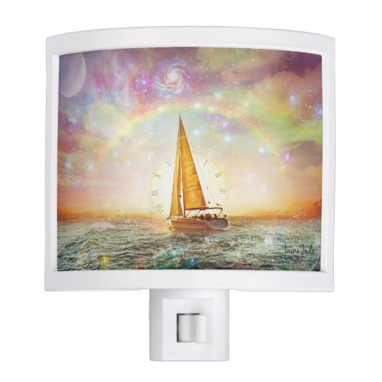 Sail The Sea Of Time Night Light