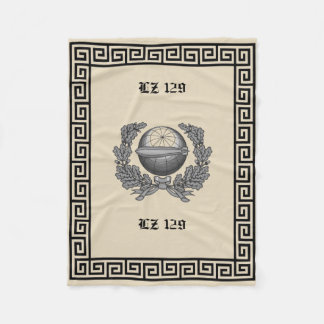 Sail the ships of the sky. Air ships of the 30's Fleece Blanket