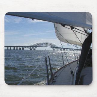 Sail to the Bridge Mousepad
