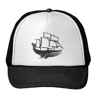 Sail Whale Trucker Hat