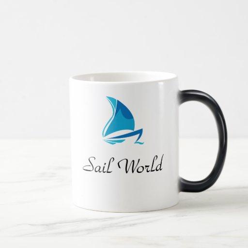 Sail World - Mug