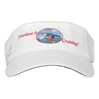 Sailaway red text visor
