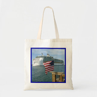 Sailaway with Flag Tote Bag