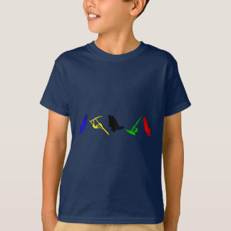 Sailboard Windsurfing sailboarding sailing sports T-Shirt