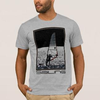Sailboarding / windsurfing  men's tee