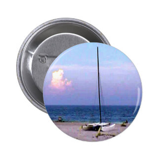 Sailboat 2004 I'd rather be Sailing jGibney The MU 2 Inch Round Button