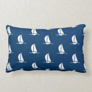 Sailboat Accent Pillow
