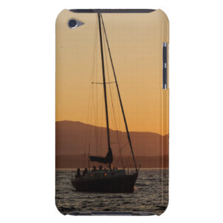 Sailboat At Sunset On The Puget Sound iPod Case-Mate Case