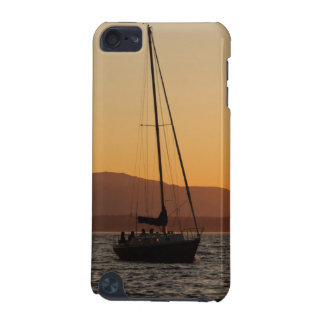 Sailboat At Sunset On The Puget Sound iPod Touch (5th Generation) Cover