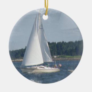 Sailboat Bubbles Ornament
