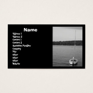 Sailboat Business Card Template
