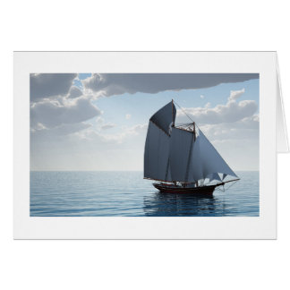 Sailboat Card for all occasions