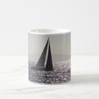 Sailboat & Catalina Island Mug