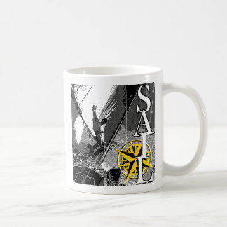 SAILBOAT COFFEE MUG