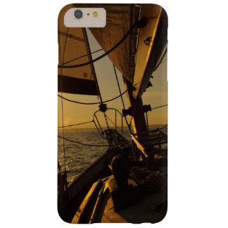 Sailboat Deck, Heading Into Setting Sun Barely There iPhone 6 Plus Case