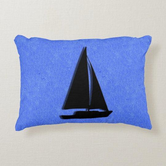 Sailboat Decorative Pillow
