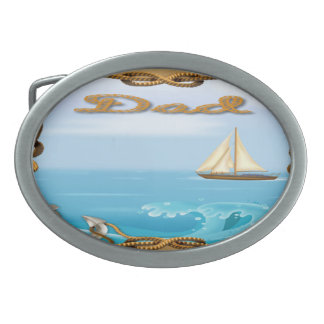 Sailboat Father's Day Belt Buckle