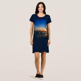 Sailboat Flotilla in Silhouette 2 Dress