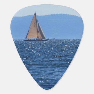 Sailboat Guitar Pick