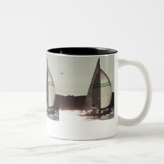 Sailboat & Gull Mug