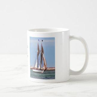 Sailboat in a Brisk Wind Mug