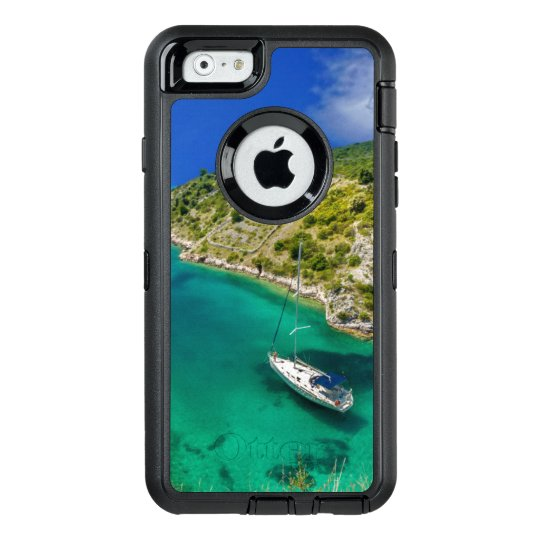 Sailboat in Emerald Green Ocean OtterBox Defender OtterBox iPhone 6/6s Case