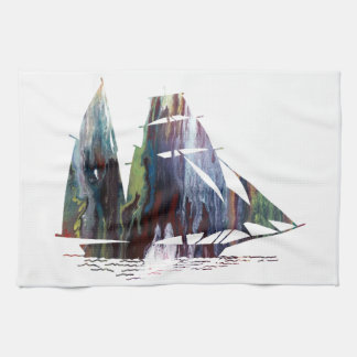Sailboat Kitchen Towel