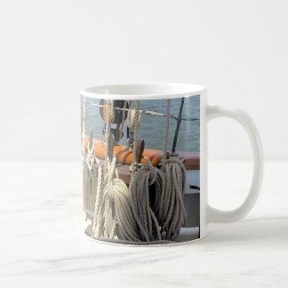 Sailboat Lines Coffee Mug