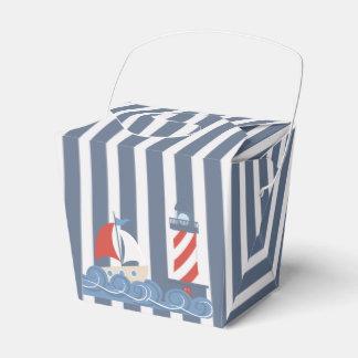 Sailboat Nautical Theme Favor Box