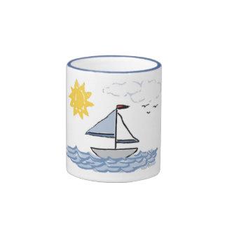 Sailboat O Ringer Mug