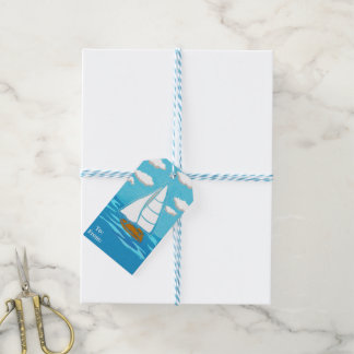 Sailboat Pack of Gift Tags