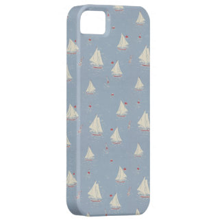 Sailboat Pattern iPhone 5 Covers