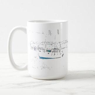 Sailboat & Pelican Bird Mug
