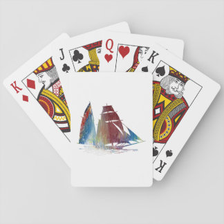 Sailboat Playing Cards