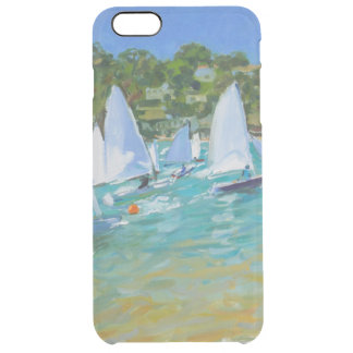 Sailboat Race Clear iPhone 6 Plus Case