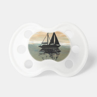 SailBoat Reflections CricketDiane Ocean Stuff Pacifier