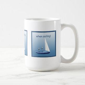 Sailboat Sailing Sailors Prayers Funny Mug
