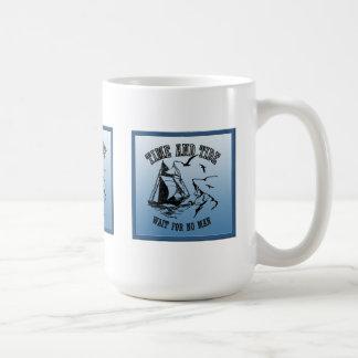 Sailboat Sailor Time and Tide Mug