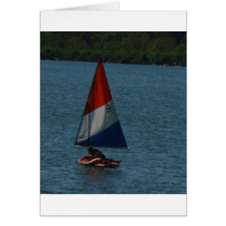 Sailboat, Set Your Sails Card