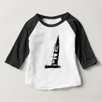 Sailboat Silhouette Baby T-Shirt