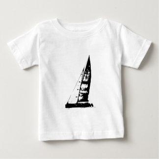 Sailboat Silhouette Baby T-Shirt
